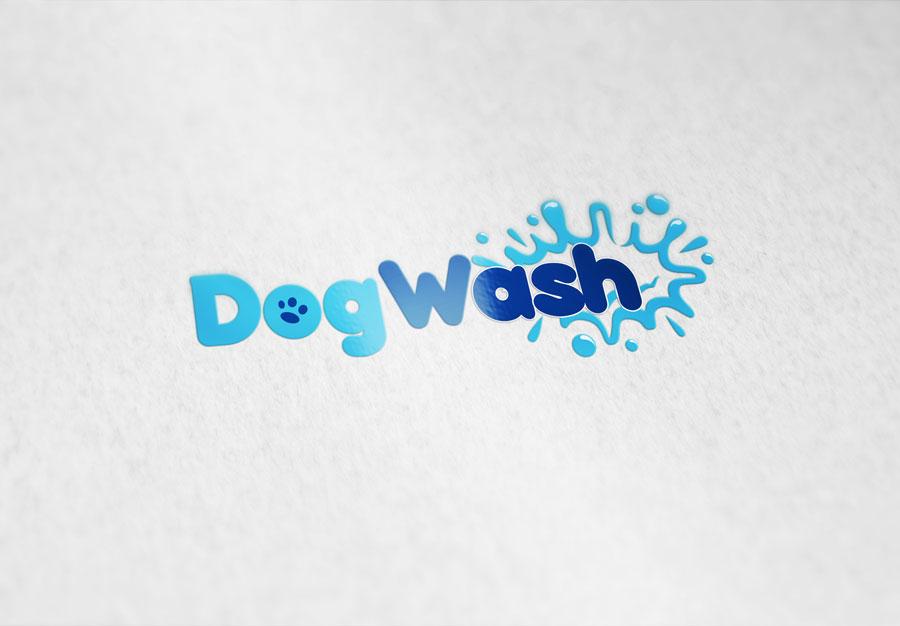 Diseño logotipo dogwash