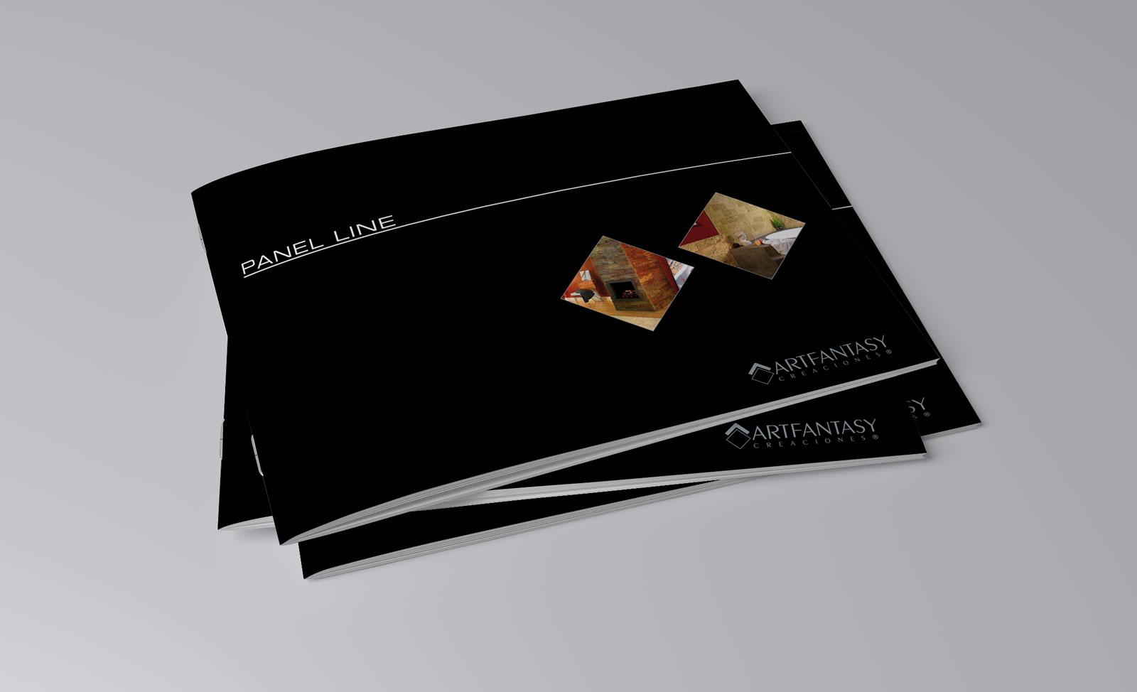Artfantasy brochure - Identidad Gráfica ArtFantasy