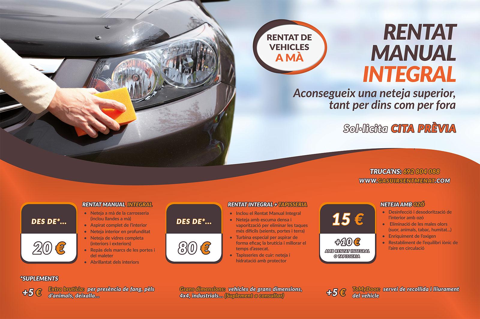 Diseño pósters publicitarios Gasuir