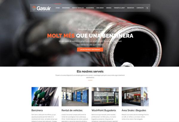 Diseño página web Gasuir miniatura