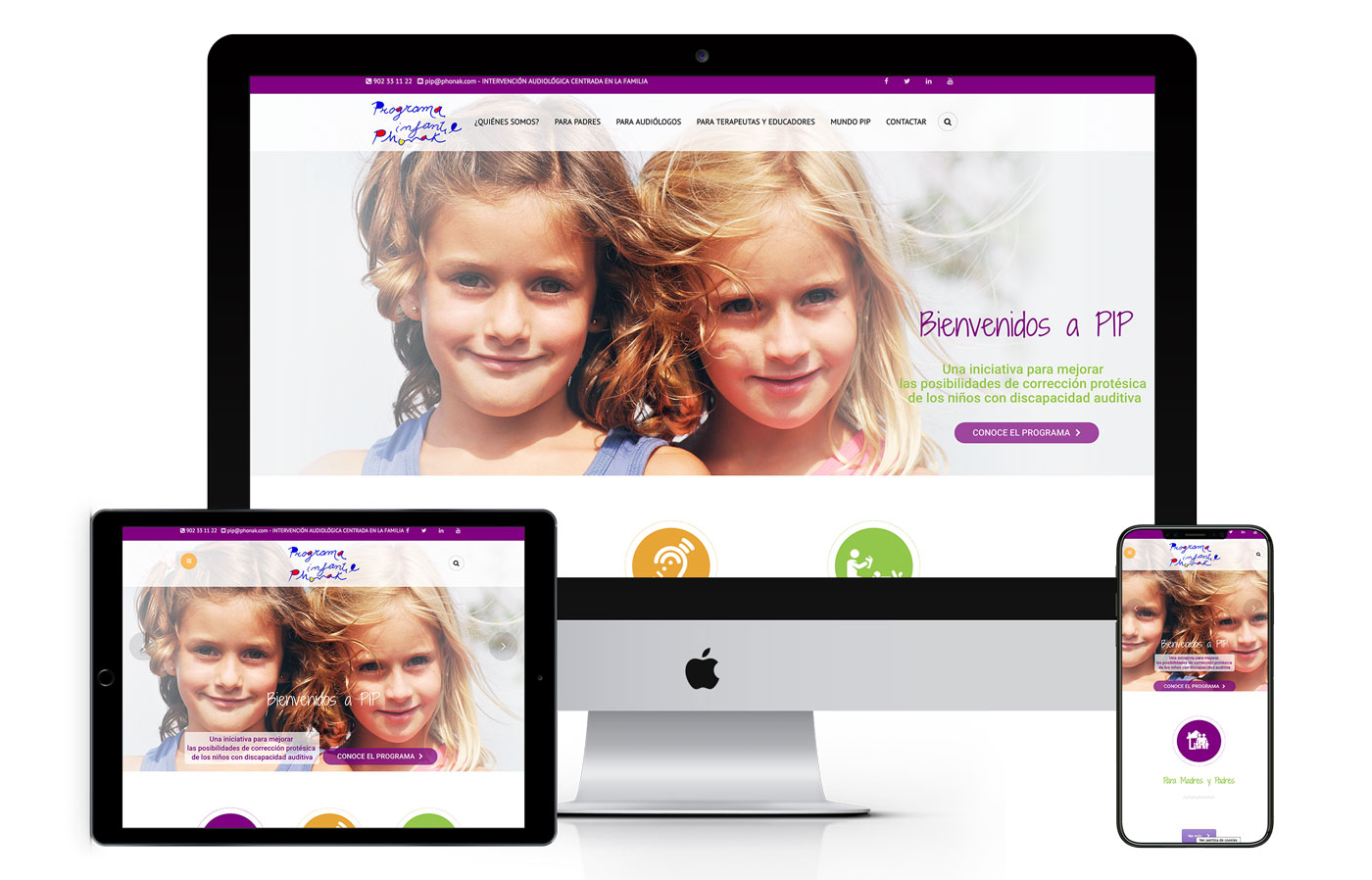Programa Infantil PIP web