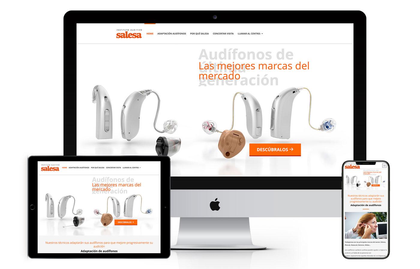 Diseño Landing Page Salesa
