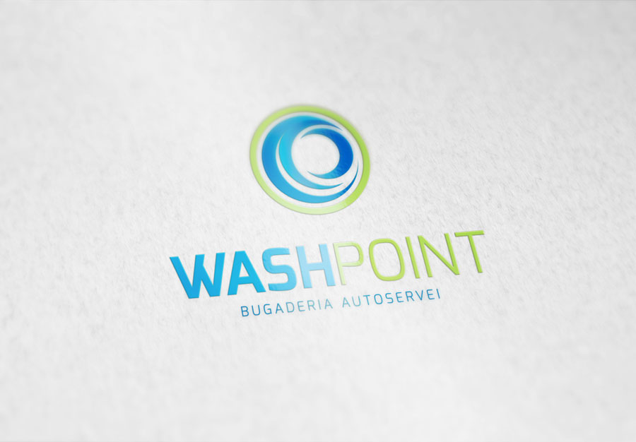 Identidad Gráfica WashPoint