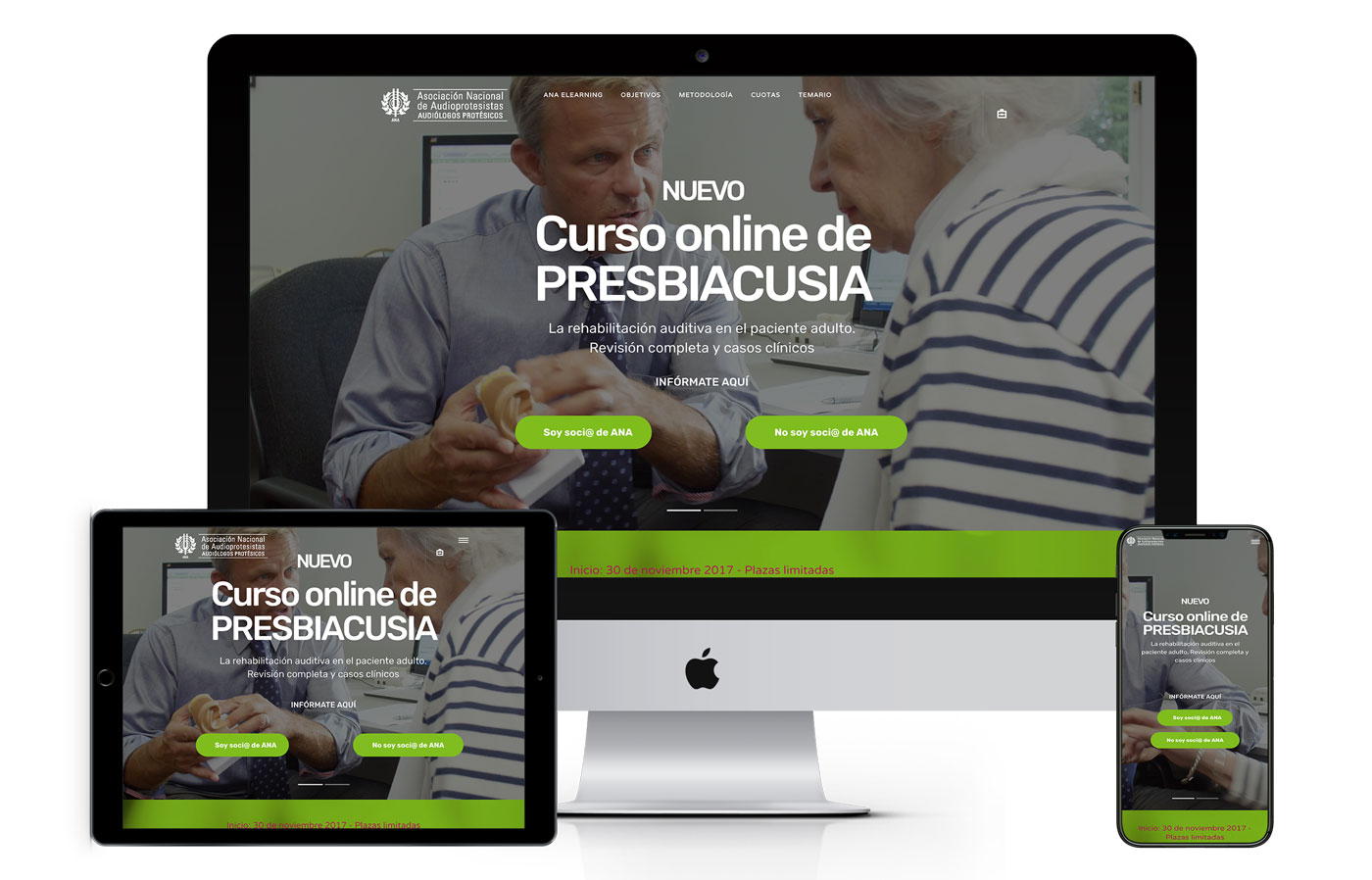 anaelearning web - Audiología Elearning