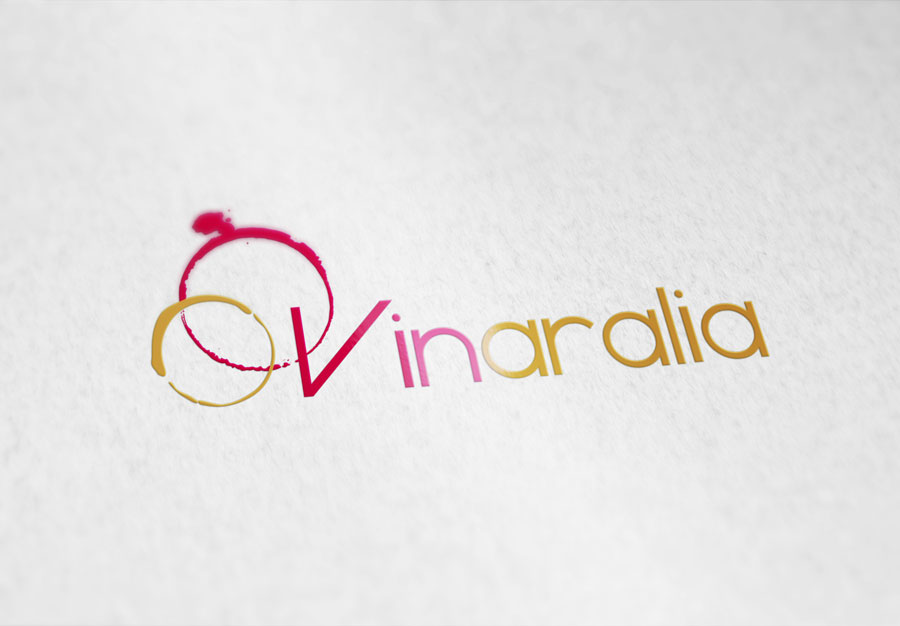 Diseño logotipo Vinaralia