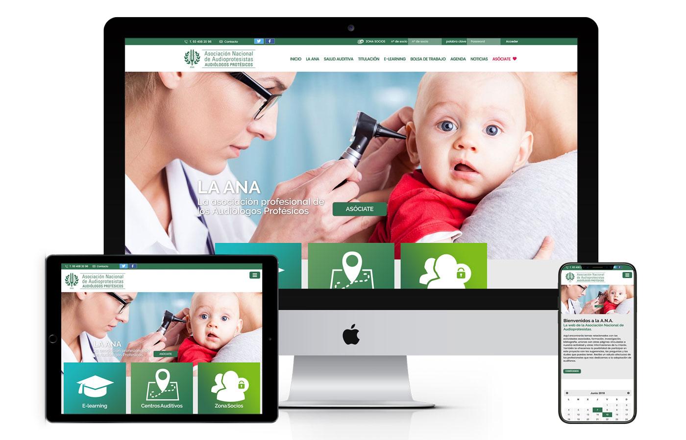 Diseño web y ecommerce audioprotesistas