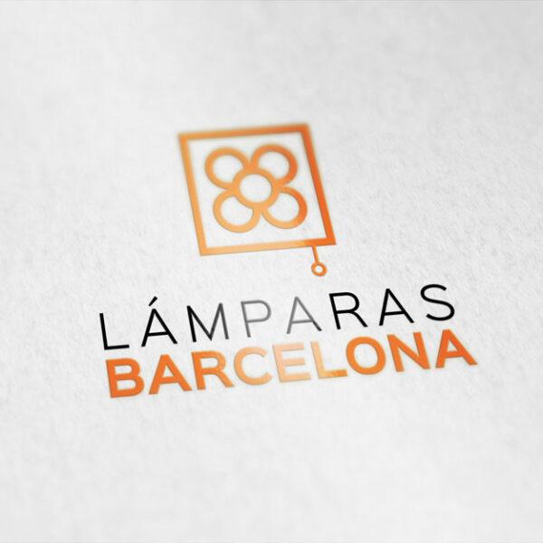 LamparasBarcelona logo 600x600 - Identidad Gráfica Lámparas Barcelona