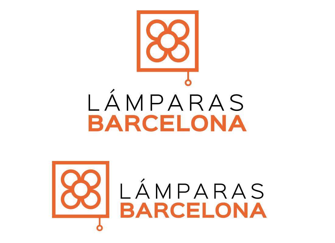 Logo lamparasbarcelona - Identidad Gráfica Lámparas Barcelona