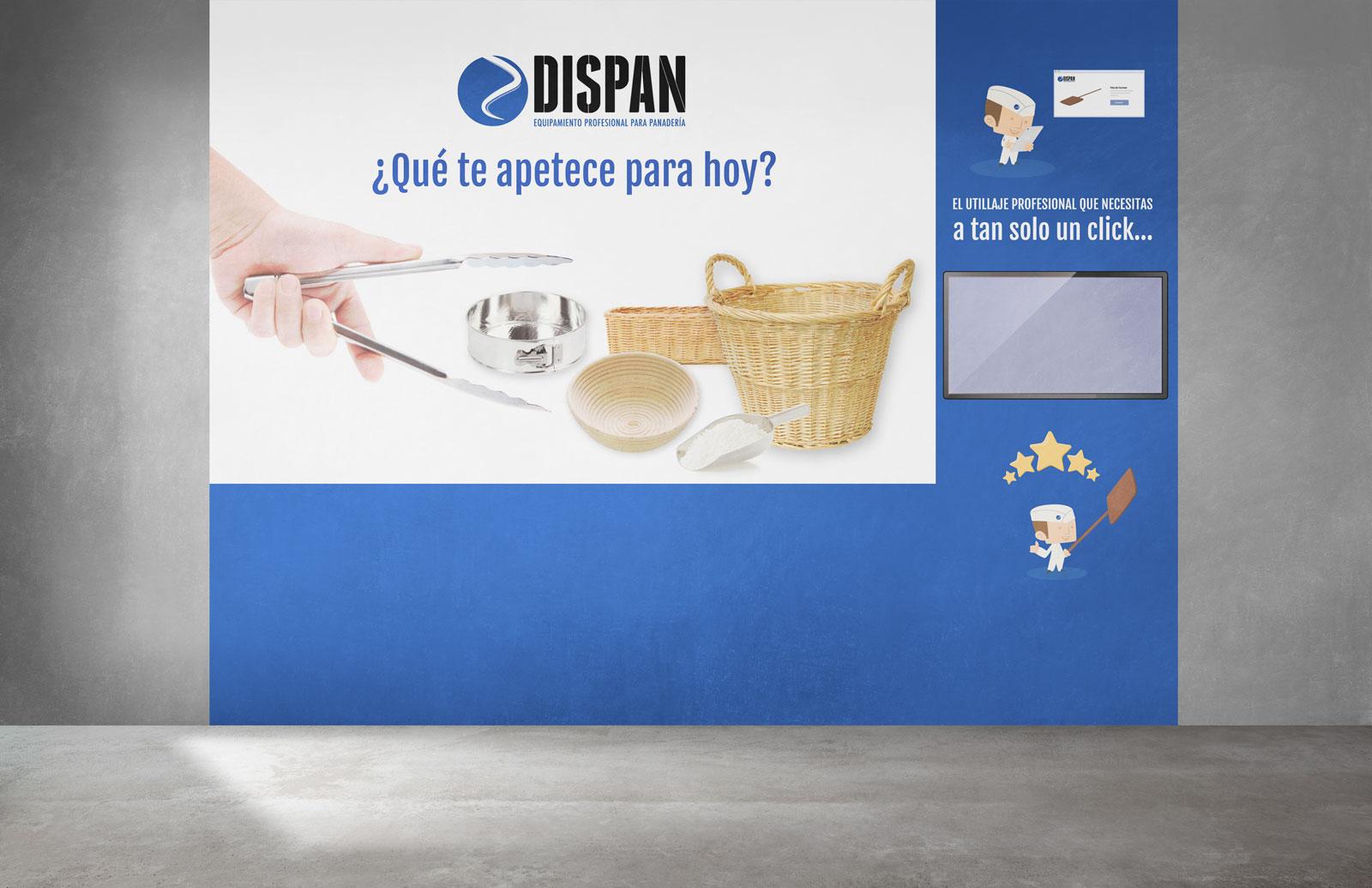 Dispan viniloStandA - Diseño stand ferial