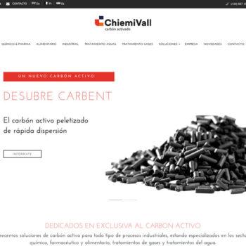 Diseño web para empresa industrial