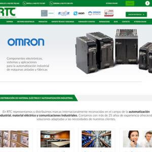 RTC web mini 300x300 - Diseño web Grup Carol