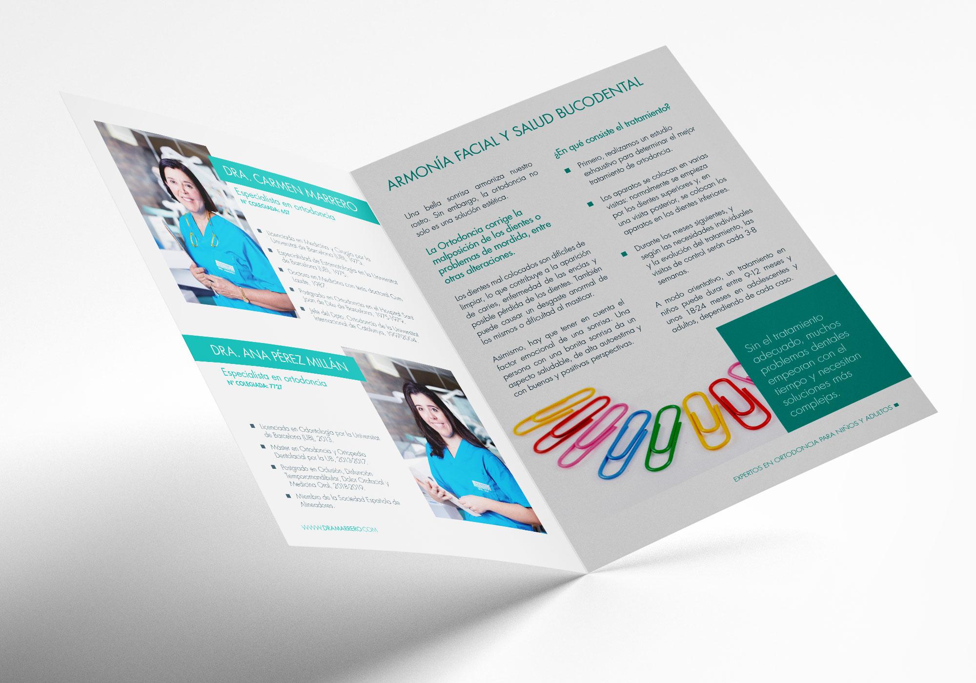 Folletos Marrero3 - Diseño web Clínica Marrero